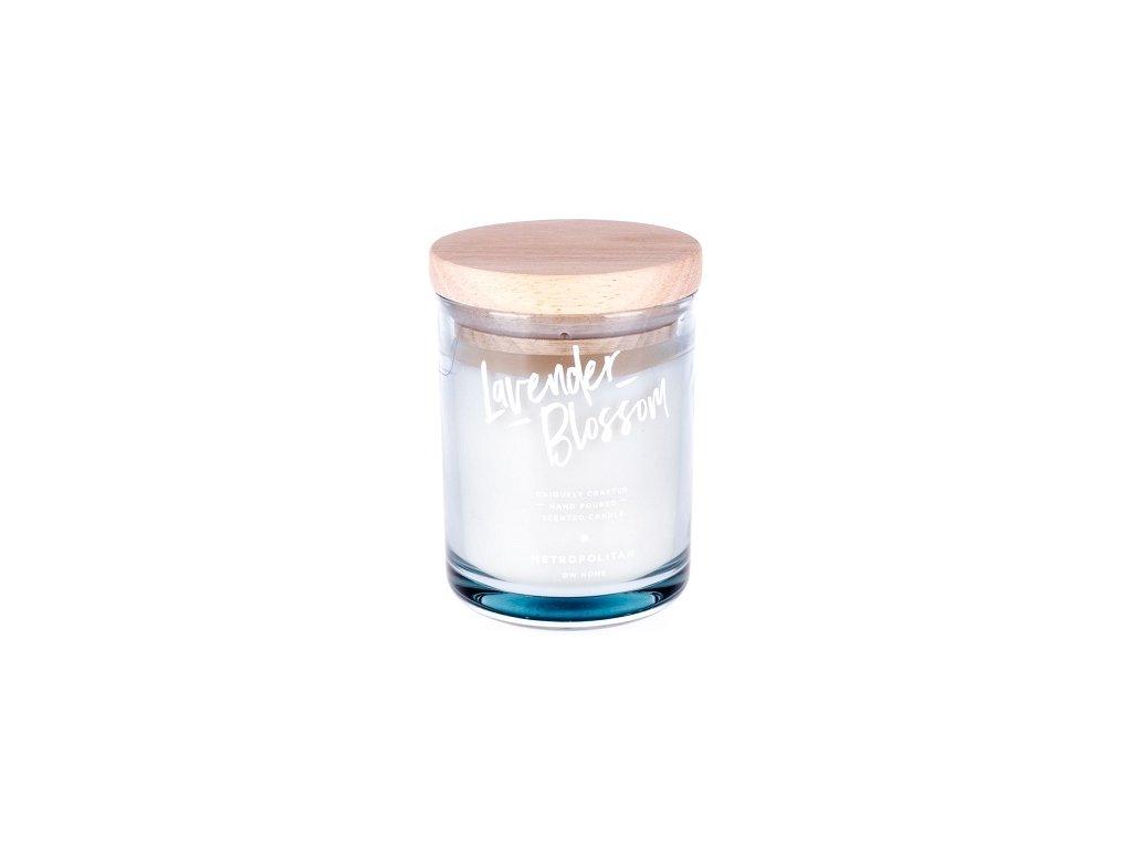 DW Home Vonná svíčka ve skle Květy levandule - Lavender Blossom, 15oz