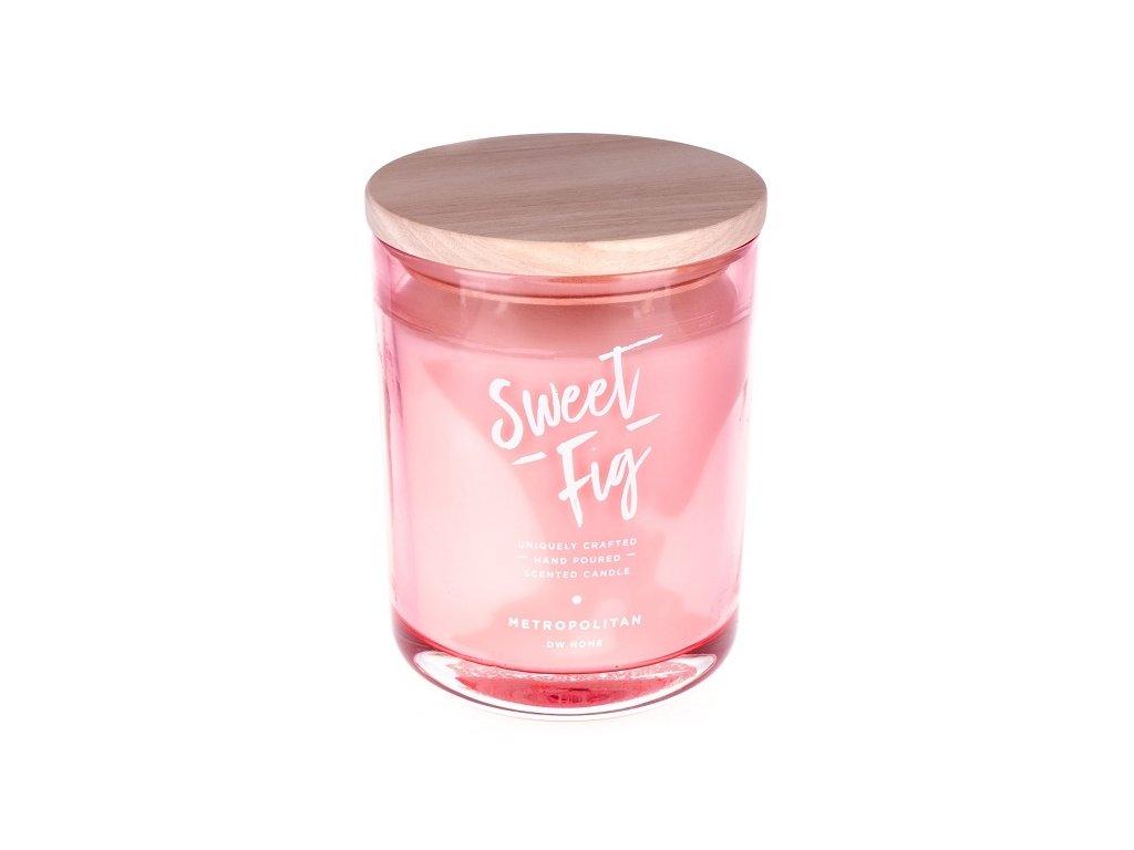 DW Home Vonná svíčka ve skle Sladký fík - Sweet Fig, 25oz