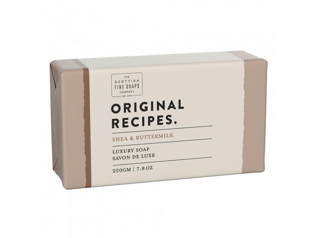 Scottish Fine Soaps Mýdlo - Bambucké máslo a podmáslí, 220g