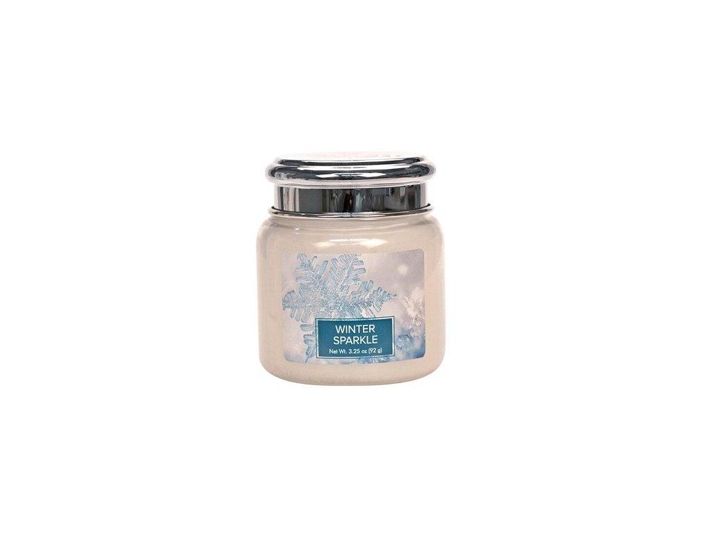 Village Candle Vonná svíčka ve skle - Winter Sparkle, 3,75oz