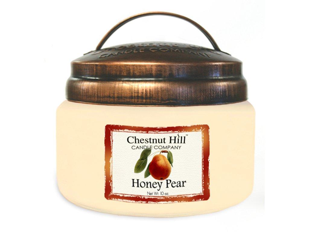 Chestnut Hill Vonná svíčka ve skle Medová hruška - Honey Pear, 10oz