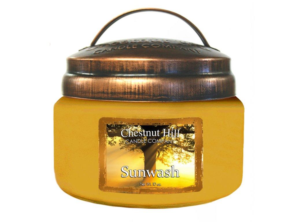 Chestnut Hill Vonná svíčka ve skle Sluneční svit - Sunwash, 10oz