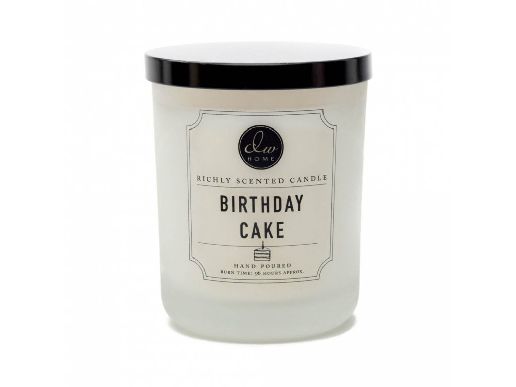 DW Home Vonná svíčka ve skle Birthday Cake 26,2oz