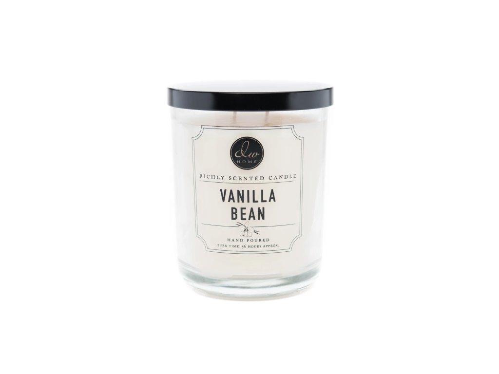 DW Home Vonná svíčka ve skle Vanilla Bean 26,2oz