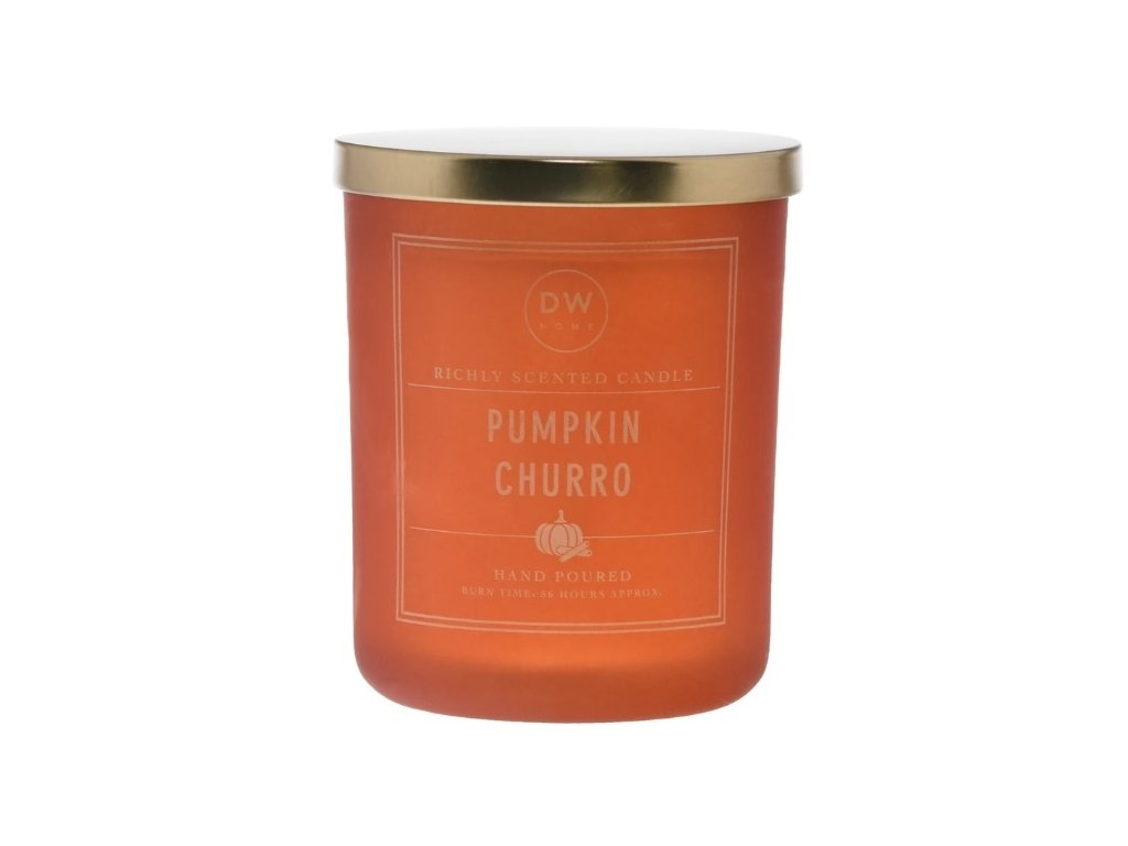 DW Home Vonná svíčka ve skle Pumpkin Churro 25,4oz