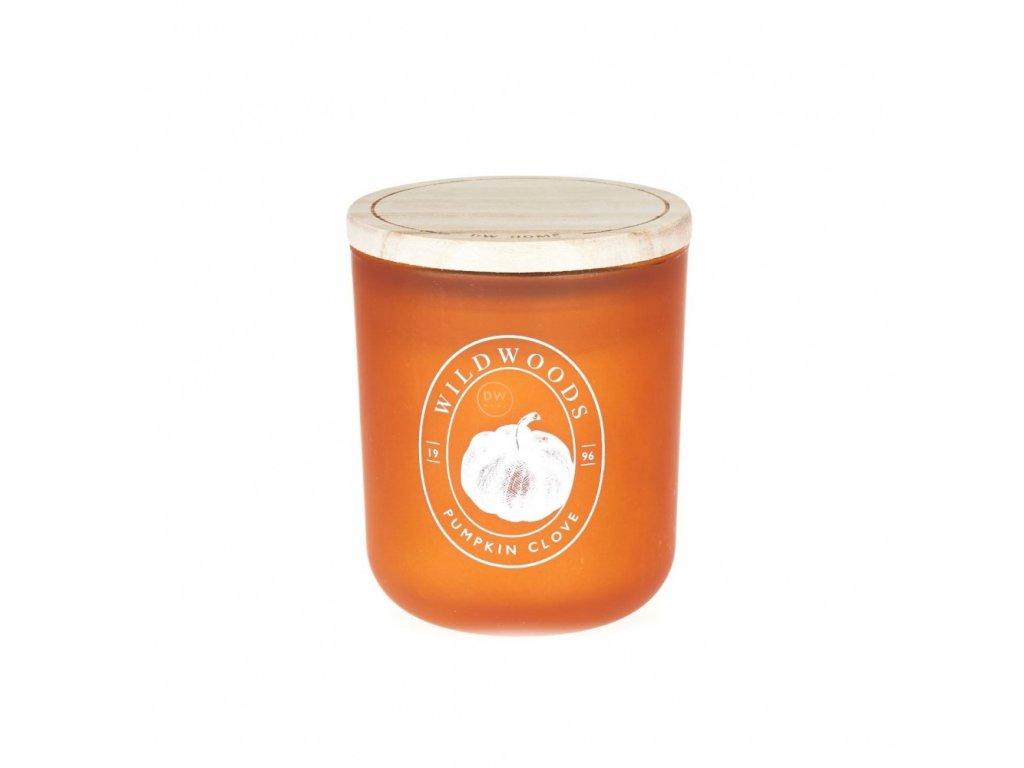 DW Home Vonná svíčka ve skle Pumpkin Clove, 3,8oz