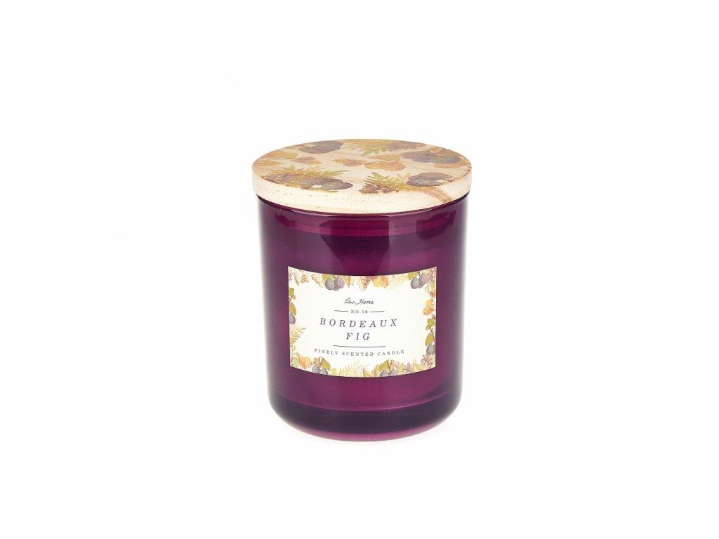 DW Home Vonná svíčka ve skle Bordeaux Fig 14oz