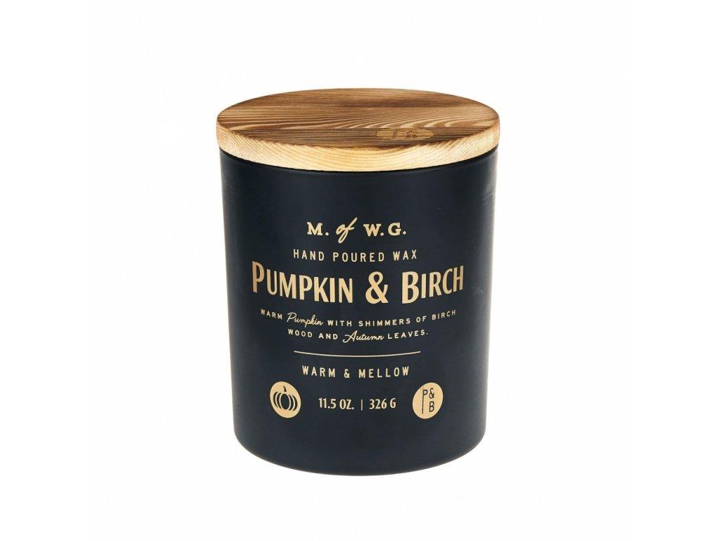 Makers of Wax Goods Vonná svíčka ve skle Pumpkin & Birch 8oz