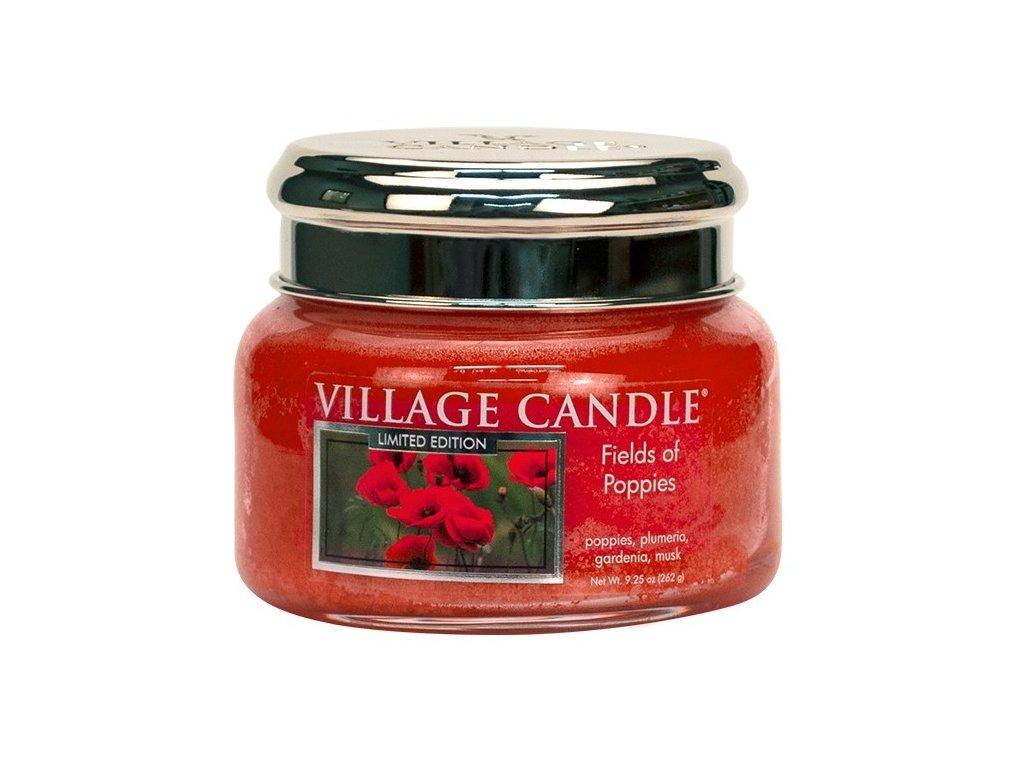 Village Candle Vonná svíčka ve skle - Fields Of Poppies, 11oz