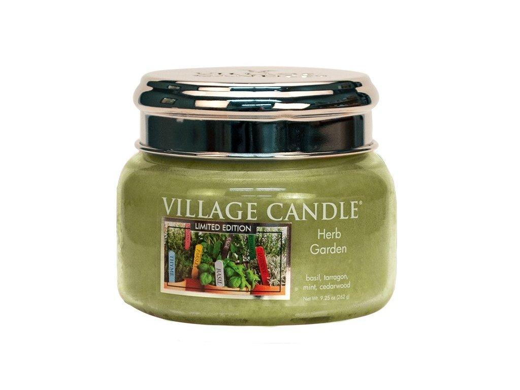 Village Candle Vonná svíčka ve skle - Herb Garden, 11oz