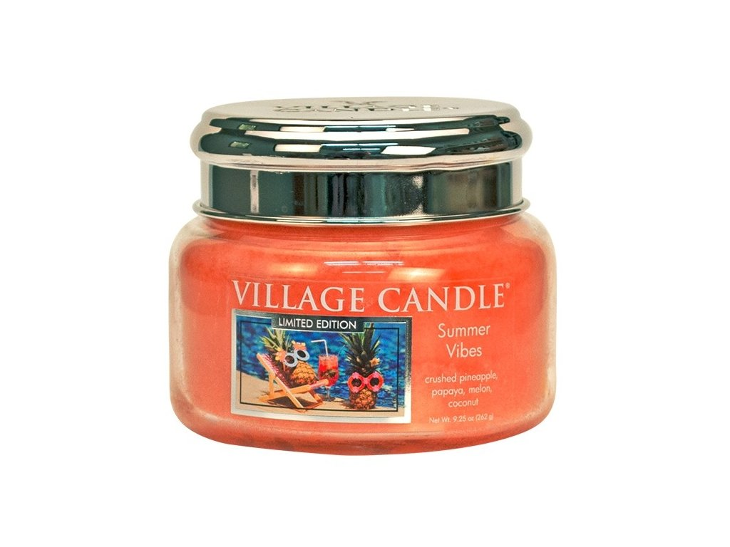 Village Candle Vonná svíčka ve skle - Summer Vibes, 11oz