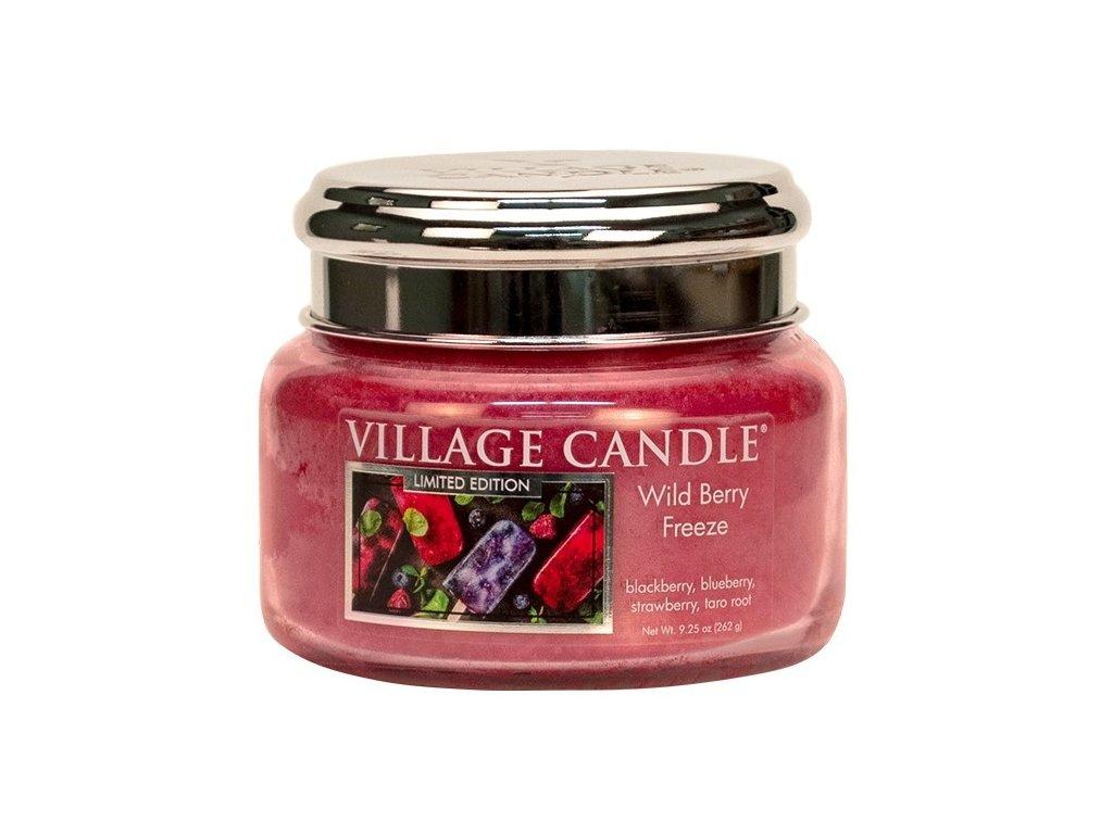 Village Candle Vonná svíčka ve skle - Wild Berry Freeze, 11oz