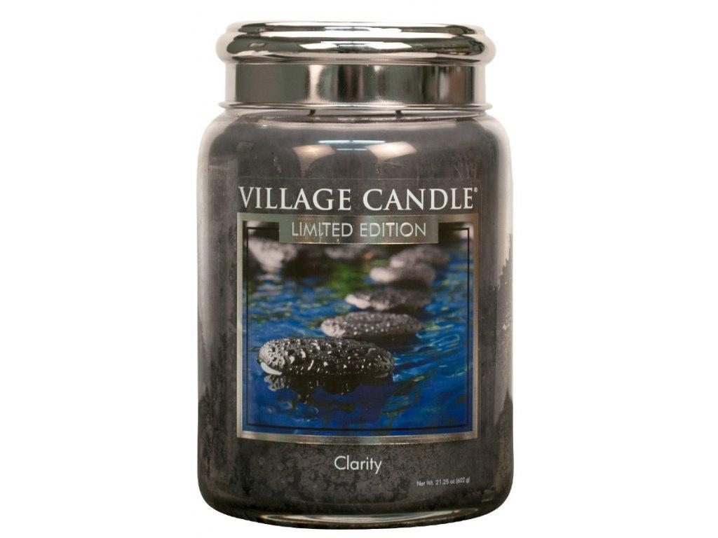 Village Candle Vonná svíčka ve skle - Clarity, 26oz - Limited edition