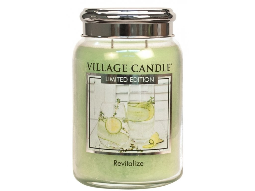 Village Candle Vonná svíčka ve skle - Revitalize, 26oz - Limited edition