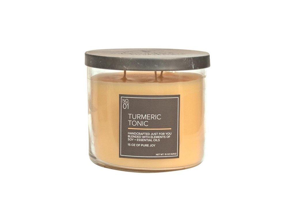 Village Candle Vonná svíčka ve skle - Turmeric Tonic 15oz