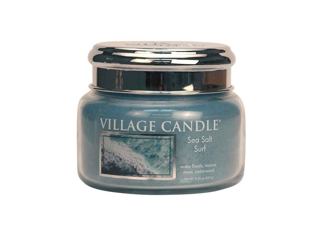 Village Candle Vonná svíčka ve skle, Mořský Příboj - Sea Salt Surf, 11oz