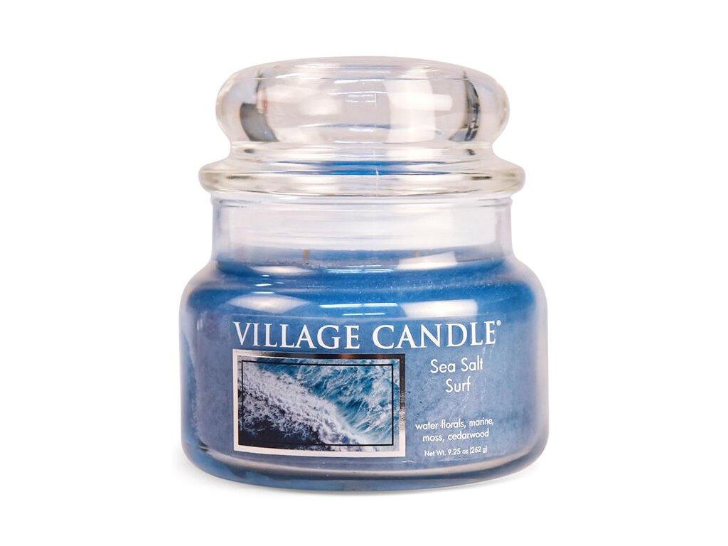 Village Candle Vonná svíčka ve skle, Mořský Příboj - Sea Salt Surf, 16oz