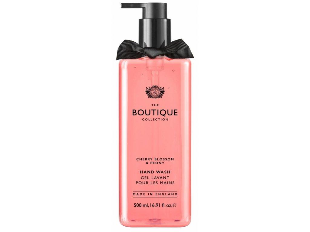 Grace Cole Tekuté mýdlo na ruce - Cherry Blossom & Peony, 500ml