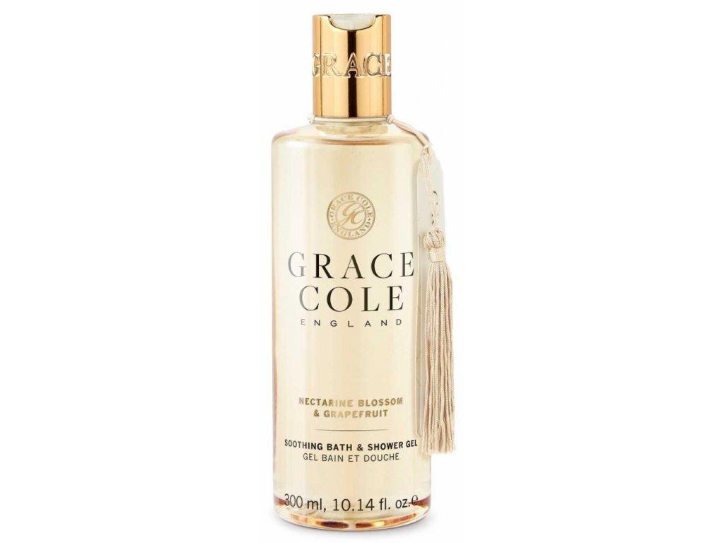 Grace Cole Koupelový a sprchový gel - Nectarine Blossom & Grapefruit, 300ml