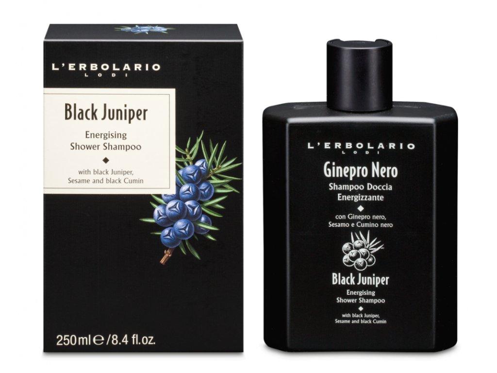 L´Erbolario Pánský sprchový gel a šampón 2v1- Černý jalovec 250ml