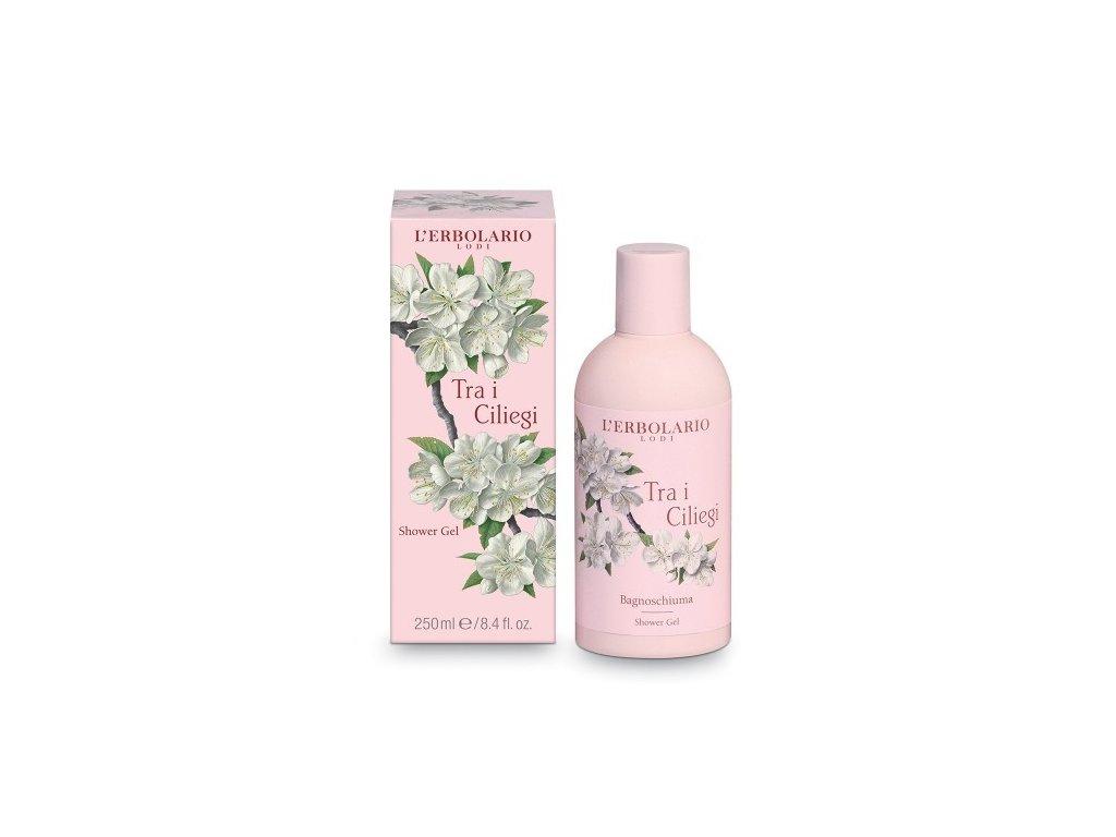 L'Erbolario Sprchový gel - Třešňový květ 250ml