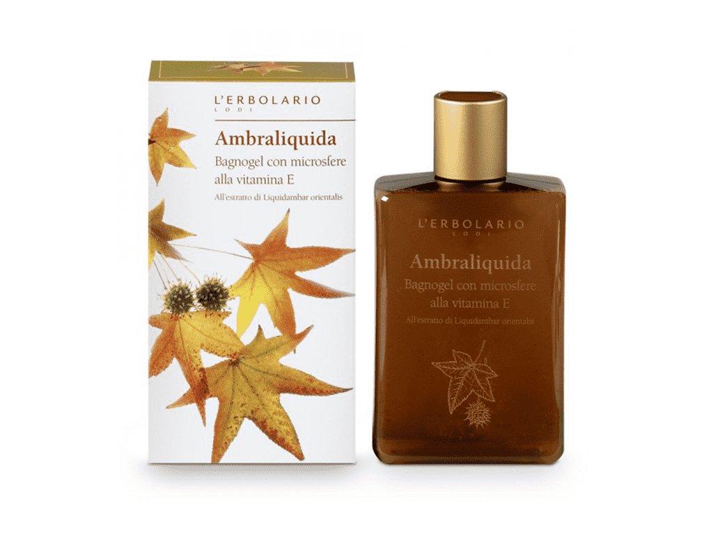 L'Erbolario Sprchový gel s vitamínem E - Ambraliquida 250ml
