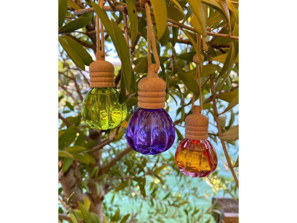 Esprit Provence - Závěsný difuzér s esenciálním olejem Lavandin, 10ml