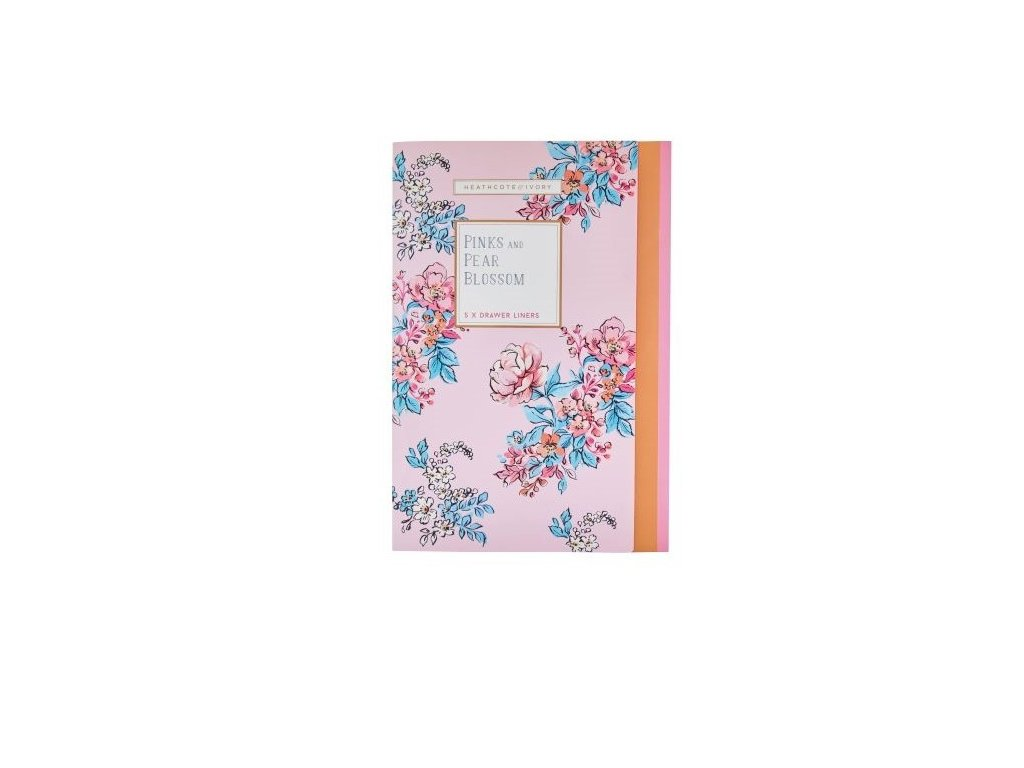 Heathcote & Ivory Parfemovaný DIY papír - Pinks & Pear Blossom, 5 archů