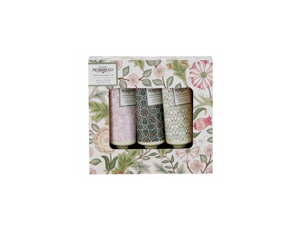 Heathcote & Ivory Sada krémů na ruce - Jasmine & Green tea, 3x30ml