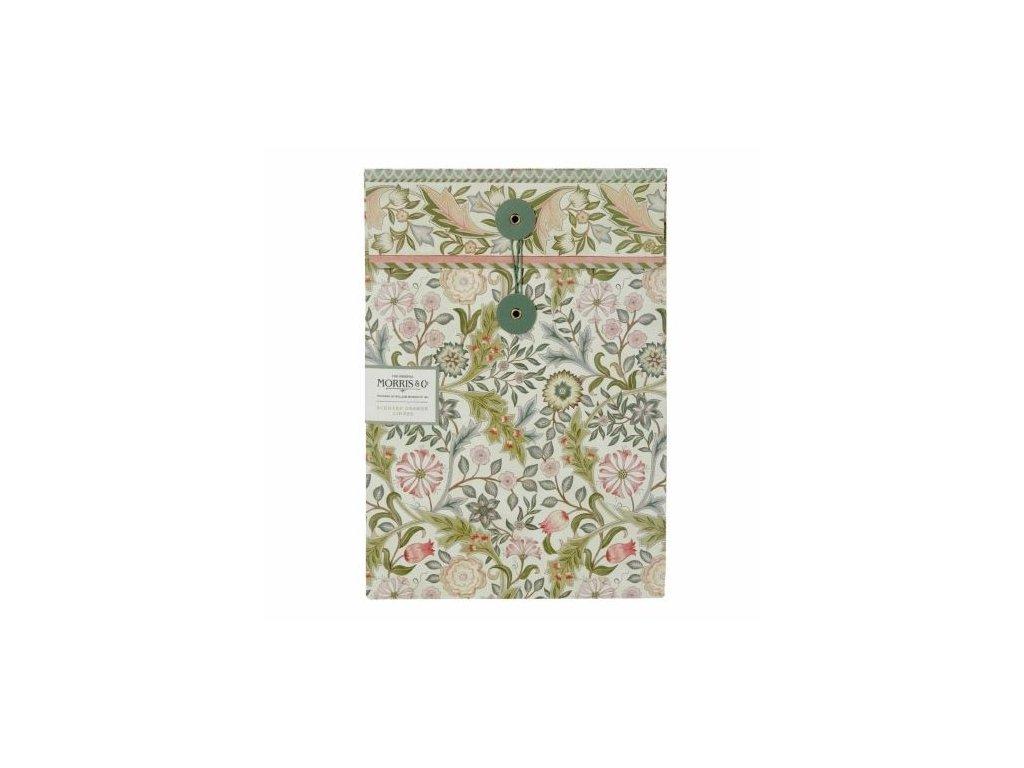Heathcote & Ivory Parfemovaný DIY papír - Jasmine & Green tea, 5 archů