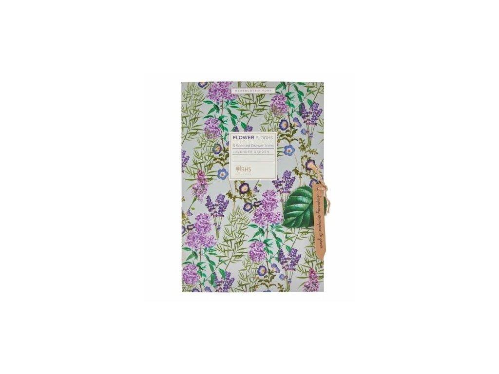 Heathcote & Ivory Parfemovaný DIY papír - Flower Blooms, 5 archů