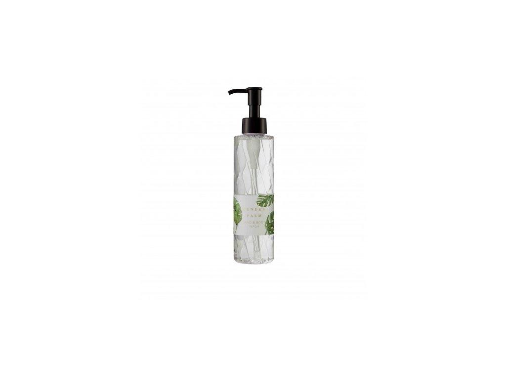 Heathcote & Ivory Mycí gel na tělo a ruce - Tender Palm, 200ml