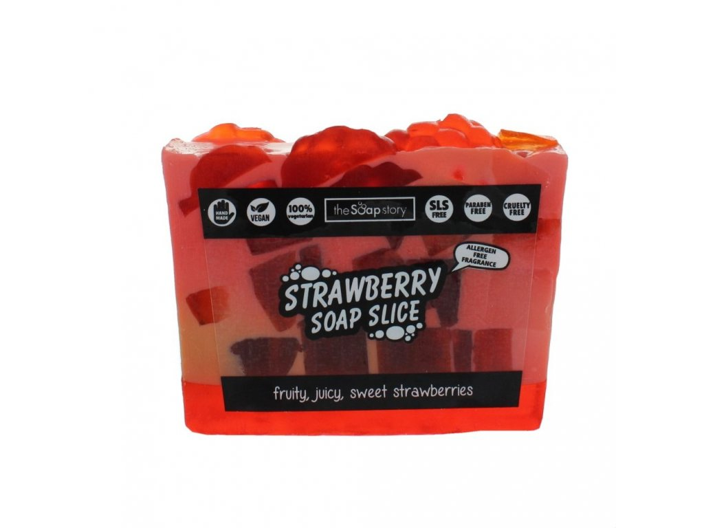 The Soap Story Mýdlový řez - Strawberry, 120g