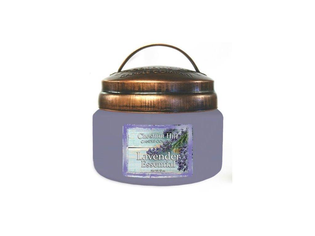 Chestnut Hill Vonná svíčka ve skle Levandule - Lavender Essential, 10oz