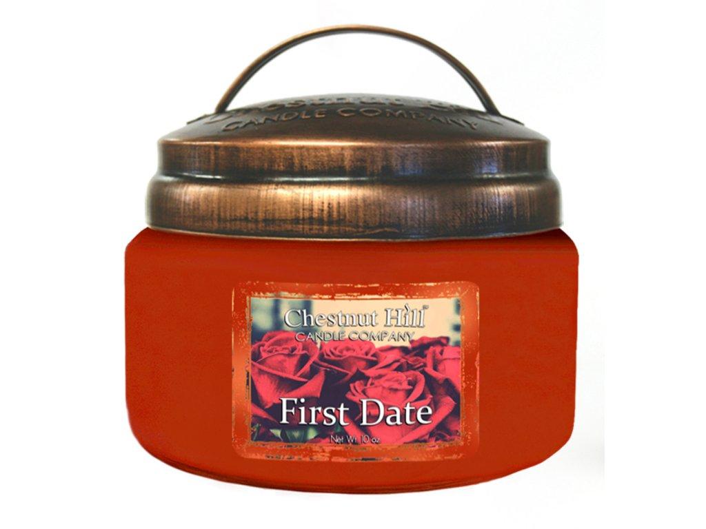 Chestnut Hill Vonná svíčka ve skle První rande - First Date, 10oz
