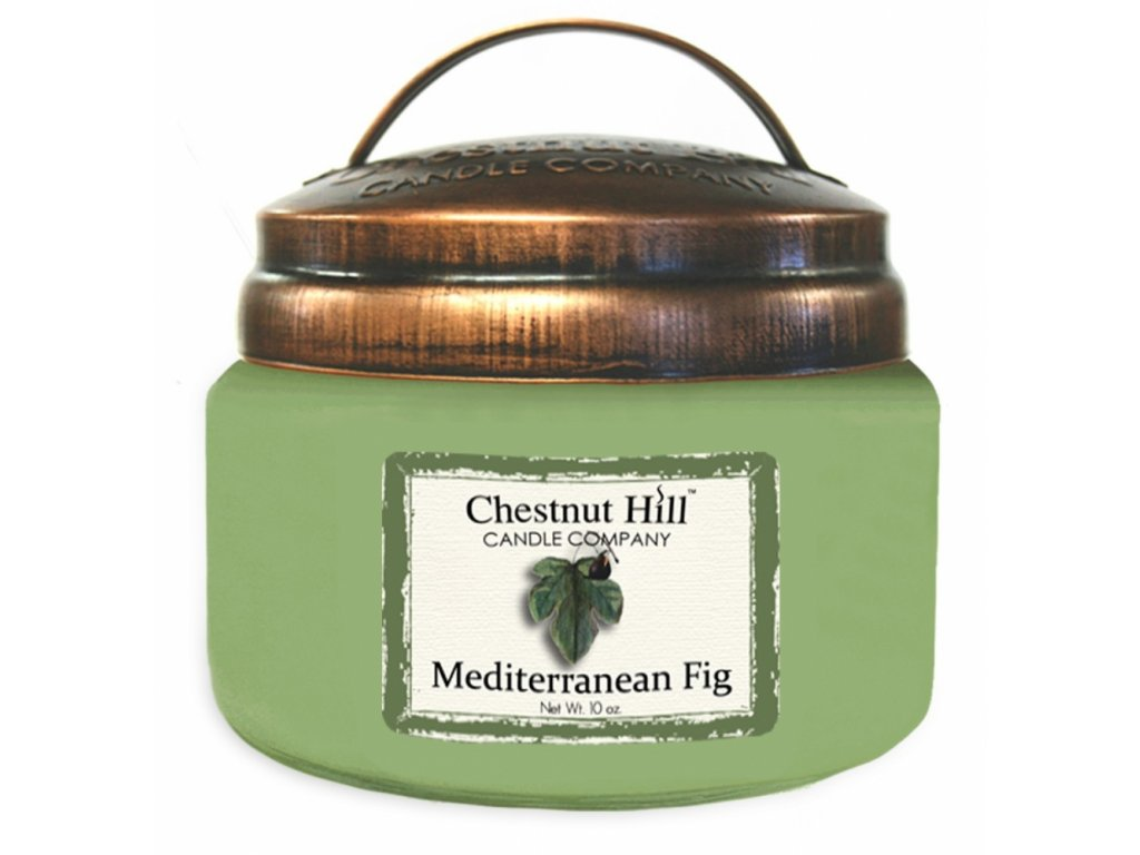 Chestnut Hill Vonná svíčka ve skle Středomořský fík - Mediterranean Fig, 10oz