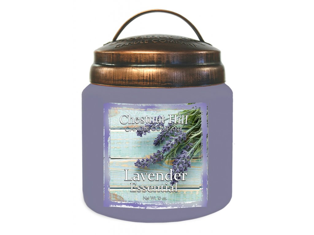 Chestnut Hill Vonná svíčka ve skle Levandule - Lavender Essential, 16oz