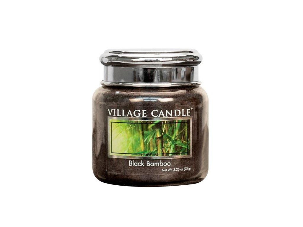 Village Candle Vonná svíčka ve skle, Bambus - Black Bamboo 3,75oz