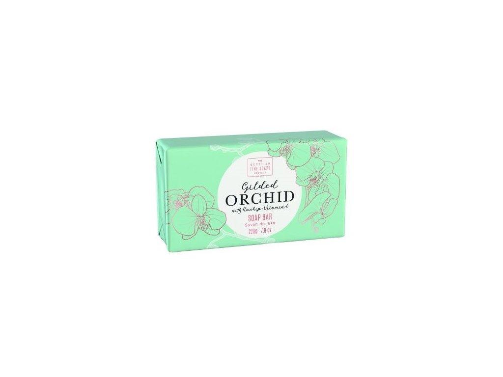 Scottish Fine Soaps Mýdlo - Pozlacená orchidej, 220g