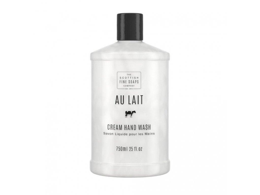 Scottish Fine Soaps Tekuté mýdlo náhradní náplň - Au Lait, 750ml