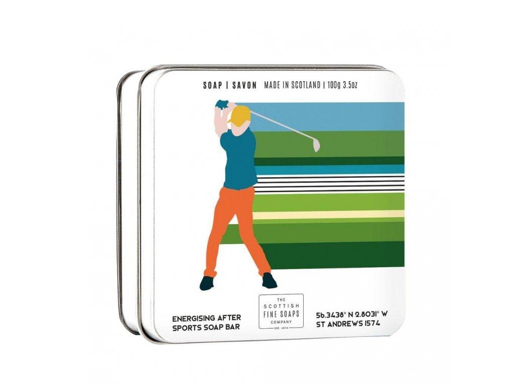 Scottish Fine Soaps Mýdlo v plechu - Golf, 100g