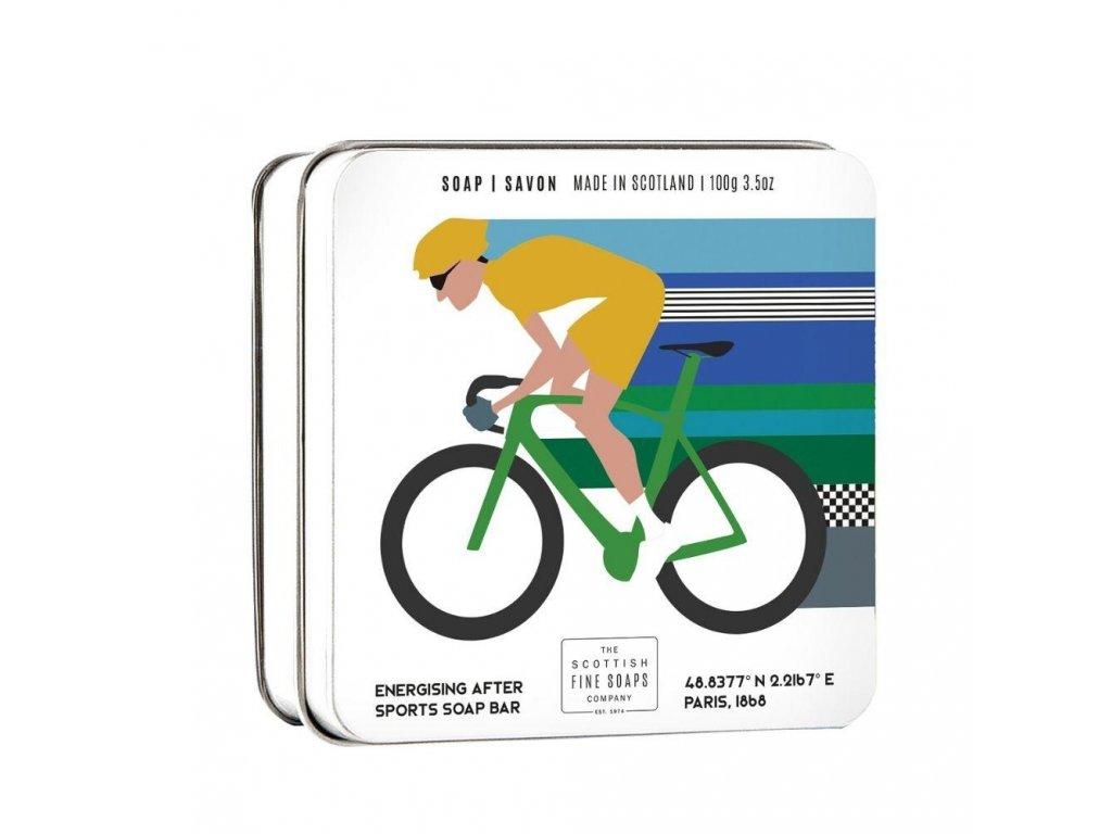 Scottish Fine Soaps Mýdlo v plechu - Cyklistika, 100g