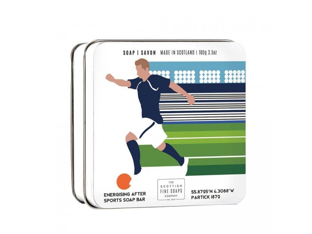 Scottish Fine Soaps Mýdlo v plechu - Fotbal, 100g