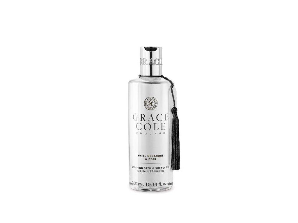 Grace Cole Koupelový a sprchový gel - White Nectarine & Pear, 300ml
