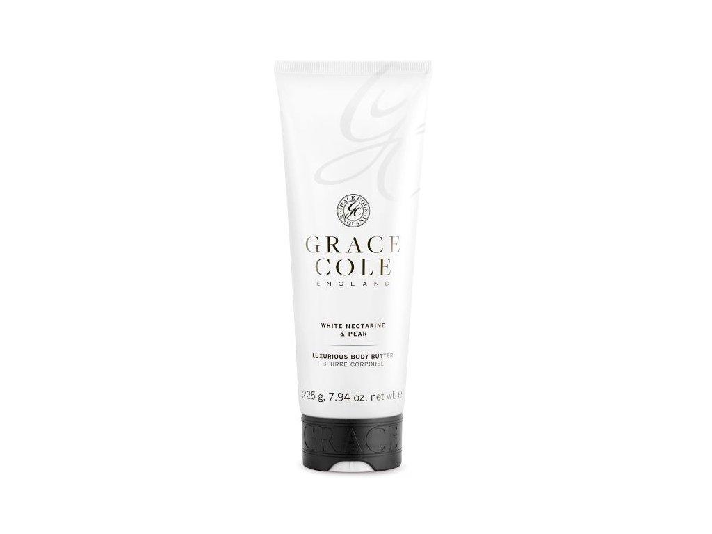 Grace Cole Tělové máslo - White Nectarine & Pear, 225g