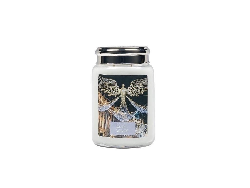 Village Candle Vonná svíčka ve skle, Andělská Křídla - Angel Wings 26oz