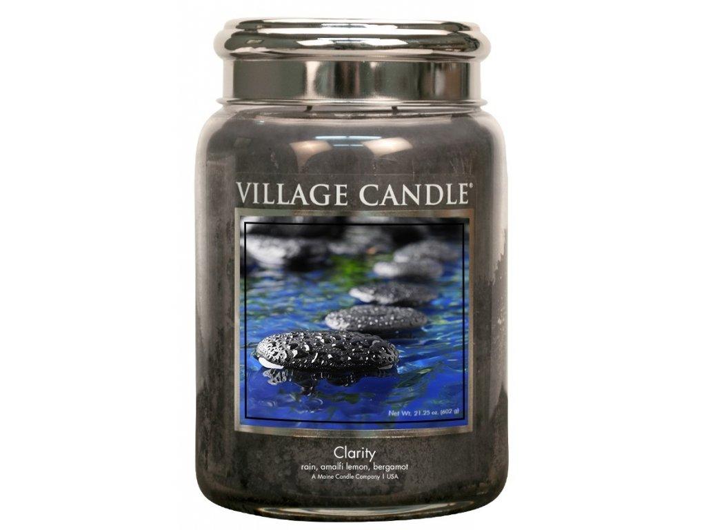 Village Candle Vonná svíčka ve skle - Clarity, 26oz