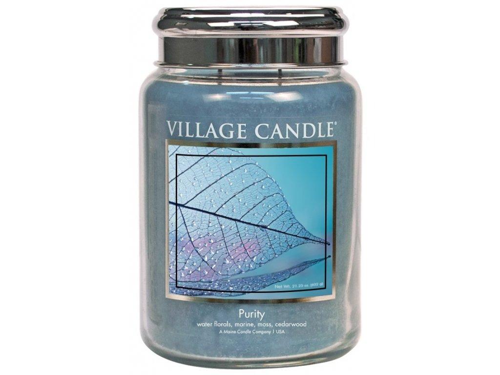 Village Candle Vonná svíčka ve skle - Purity, 26oz