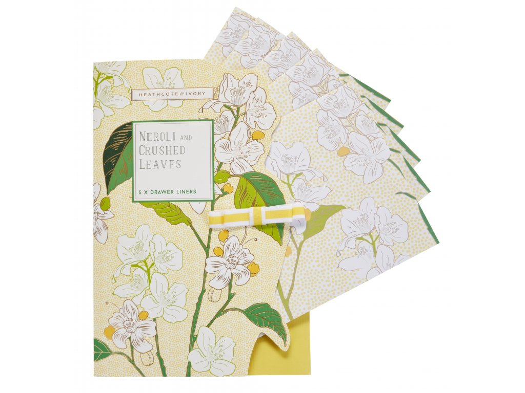 FG7222 NEROLI & CRUSHED LEAVES DRAWER LINERS front