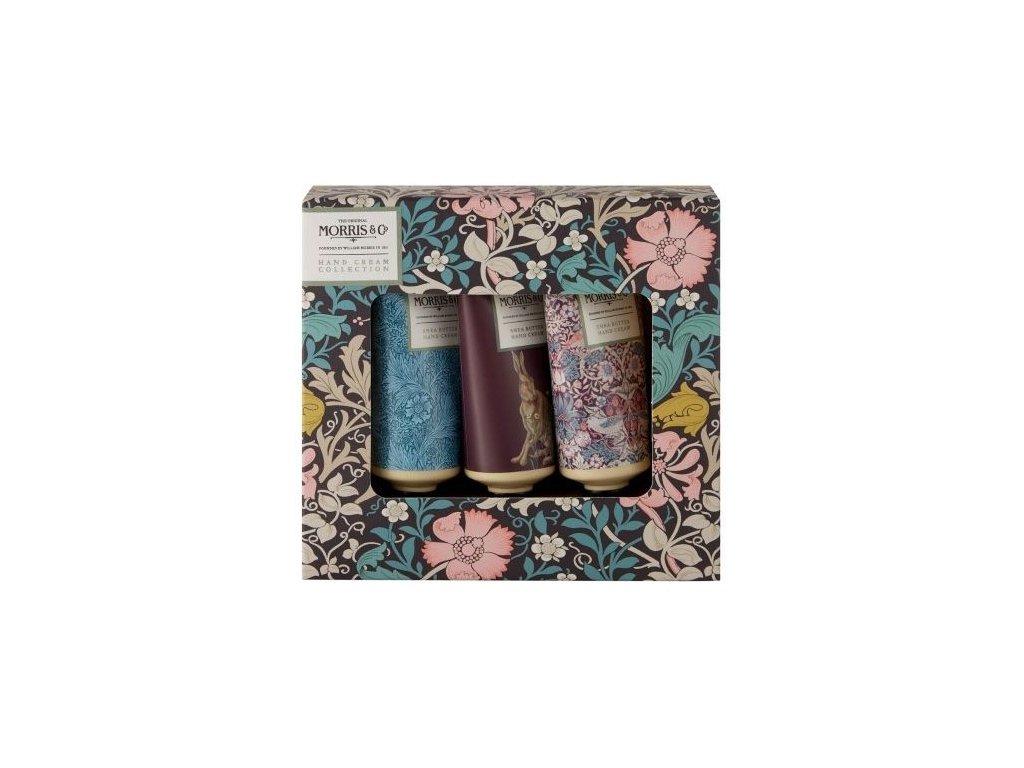 Heathcote & Ivory Sada krémů na ruce - Pink Clay & Honeysuckle, 3x30ml